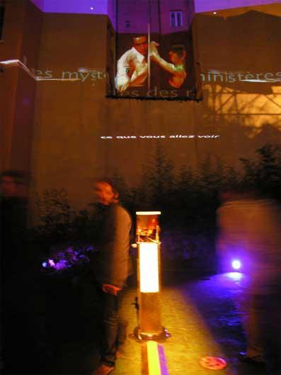 Jeudi 12 mars. Tilt festival : performance Le Slam des Lumières V2 - XLR Project, Elmediator Perpignan