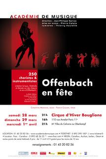 28 mars au 1er avril, Offenbach en fête - Cirque d'Hiver Bouglione à Paris