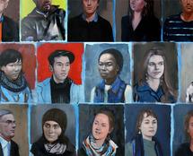 23 au 28  février, exposition Szilard Huszank, galerie du Tableau à Marseille