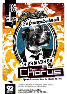 14 au 28 mars, festival Chorus des Hauts-de-Seine, avec Arthur H, Abd al Malik, Francis Cabrel, Grand Corps Malade, Amel Bent, Liane Foly, Souad Massi, l'orchestre national de Barbès…