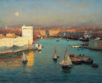 Jean-Baptiste Olive, Entrée du Vieux-Port vue du Pharo