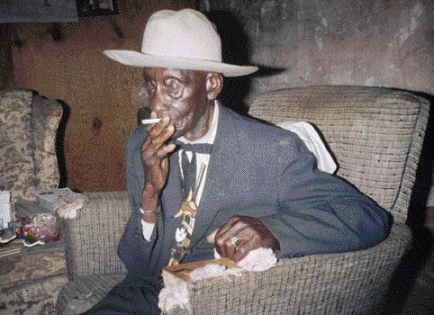 Jacob Holdt. Charles Smith, un ancien esclave rencontré en Floride.