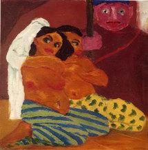 Rugueux et expressif, Emil Nolde aux Galeries Nationales du Grand Palais à Paris. Par Jacqueline Aimar