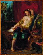 Eugène Delacroix, Odalisque  © Collection particulière