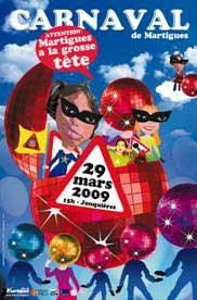 13 au 29 mars, Carnaval de Martigues, carnaval contemporain à Martigues, Bouches-du-Rhône
