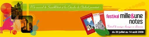 20 juillet au 14 août, Festival 1001 notes en Limousin avec Anne Queffelec, Ensemble baroque de Limoges, Nemanja Radulovic, Raphaël Pidoux, ...