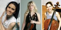 8 mars, Carnegie'Small, Sarah Lavaud, piano, Amanda Favier, violon & Ingrid Schoenlaub, violoncelle. Le Regard du Cygne à Paris