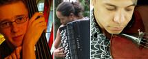 29 mars, Carnegie'Small : Yann Dubost, contrebasse & Nima Sarkechik, piano ; Jean-Paul Minali-Bella, arpegina & Aude Giuliano, accordéon. studio Le Regard du Cygne à Paris