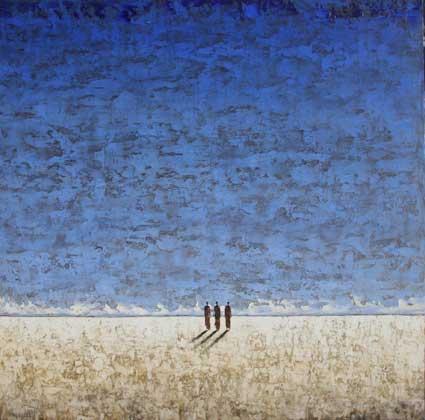 7 mars au 30 avril, exposition Michel Rauscher, peintures, à la galerie Michel Estades de Lyon