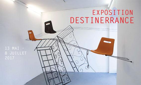 Destinerrance, exposition printemps-été du MAC ARTEUM à Châteauneuf-le-Rouge (13)