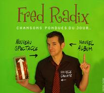 13 mars, Fred Radix, chanteur et musicien à l'Espace Culturel Jean Carmet (Mornant)