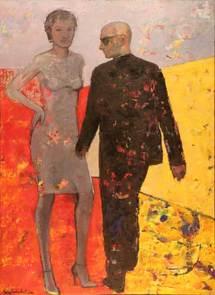 20 mars au 12 avril, Miguel Nuñez Rauschert, peintures, galerie toutes latitudes à Vincennes