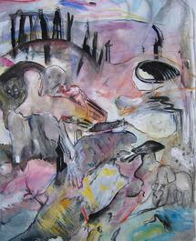 23 au 28 mars, exposition Marie-Hélène Fabra à la galerie du Tableau à Marseille