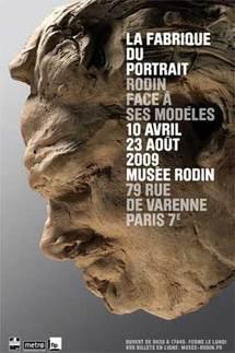10 avril au 23 août, La fabrique du portrait, Rodin face à ses modèles & Confessions / Portraits, vidéos, Musée Rodin, Paris
