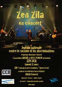 21 mars, Zen Zila en concert au CCO de Villeurbanne (69)