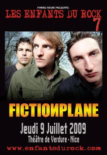 9 juillet, Fiction Plane aux Festival Les Enfants du Rock 7 à Nice