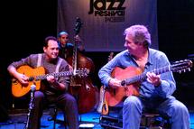 18 juillet 09, Stochelo Rosenberg et Romane. Guitare et soirée manouche à Albertivlle-Conflans