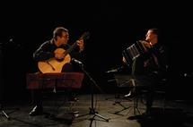 24 juillet, Duo Franceries – Vannereau (guitare et bandonéon, Buenos Aires) église de Tournon (73460)