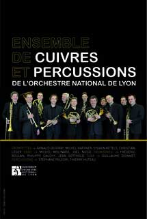 26 juillet 09, Ensemble de Cuivres et Percussions de l'Orchestre National de Lyon et l'Antonini Trio. Hommage à Billie Holiday. La Léchère (73260)