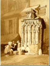 16 mai au 16 août, Voyages pittoresques, Normandie, 1820-2009, à Rouen, Le Havre, Caen