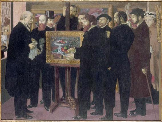 Maurice Denis, Hommage à Cézanne  © RMN-Grand Palais (musée d'Orsay) / Adrien Didierjean