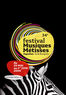29 au 31 mai, 34e édition du Festival Musiques Métisses à Angoulème
