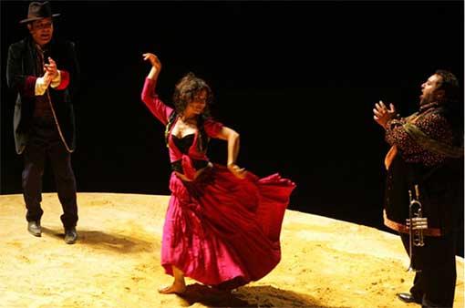 24 au 28 mars, Rouge, Carmen, théâtre du Jeu de Paume à Aix-en-Provence