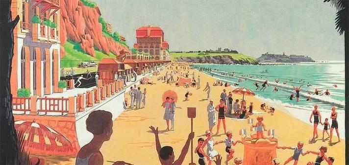 13 juin au 31 octobre 09,  Destination Normandie, deux siècles de tourisme XIXe et XXe siècle au musée de Normandie à Caen