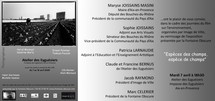 6 au 18 avril, Espèces des champs - espèces de champs à  Galerie des Eyguésiers à Aix-en-Provence
