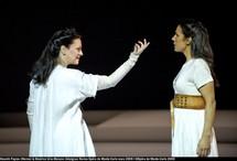 Norma de Bellini, entre gris clair et gris foncé à l'Opéra de Monte-Carlo, par Christian Colombeau