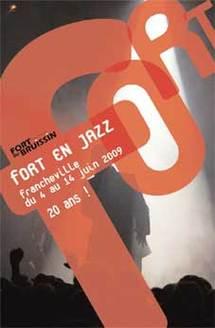 4 au 14 juin, 20ème édition du Festival Fort en Jazz de Francheville au Fort du Bruissin (69) avec Trio Rosenberg, Lionel Martin, Amrat Hussein trio,  Robin McKelle, JB Hadrot Trio, Conjunto Jacaré, Big Band de Francheville,
