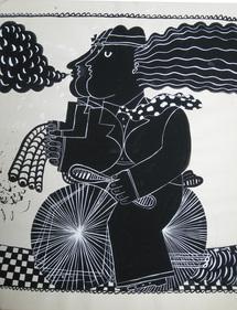 16 mai au 6 septembre, Fassianos à la galerie Espace la Vallée, La Vallée Village, Serris (77)