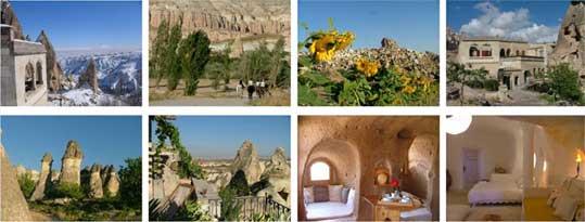 Escapade... en Cappadoce. Art de vivre troglodyte ou un « rêve sous le tuf »