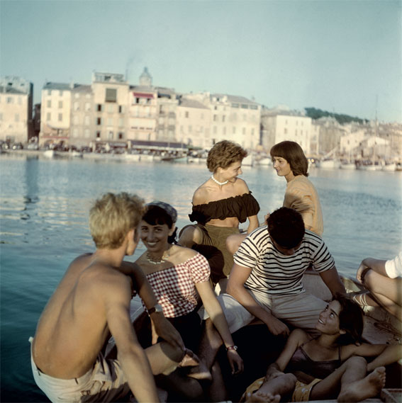 © Willy Rizzo - Saint-Tropez, 1949
