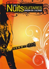 9 au 16 juillet 09, les Nuits guitares, Jardin de l'Olivaie à Beaulieu-sur-Mer avec Calvin Russell, Mattrach, John Butler, Patrick Bruel