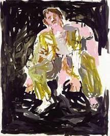 Ein Maler modern (Remix) (un peintre moderne) 2007 - 250 x 200 cm - huile sur toile