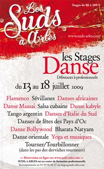 13 au 18 juillet, Les stages de la 14e édition du Festival Les Suds, à Arles