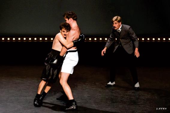 « Un certain Charles Spencer Chaplin » de Daniel Colas, au Théâtre Toursky, Marseille, le 28 avril 2017