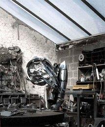 L'atelier d'Albert Féraud © DR