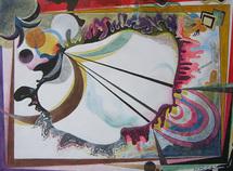 2 avril au 9 juin, Exposition ' Hédonistes de la couleur ' à la Galerie Claire CORCIA, Paris.