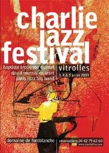 3 au 5 juillet, 12ème édition Charlie Jazz Festival au Domaine de Fontblanche à Vitrolles (Bouches du Rhône)