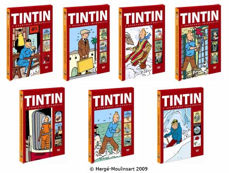 Nouvelle collection Tintin. Spéciale 80ème anniversaire. Dès le 13 mai 2009