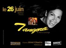26 juin, Tangora et Mario Canonge. Hommage à la poésie d'Aimé Césaire. Centre Aimé Césaire, Marseille. Jazz Vocal - Piano Jazz - Master Class