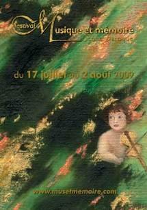 17 juillet au 2 août, Festival Musique et Mémoire 2009, Pays des Vosges Saônoises