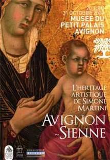 20 juin au 31 octobre 2009, Avignon-Sienne. L'héritage artistique de Simone Martini. Musée du Petit Palais, Avignon