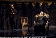 La Dame de pique joue et gagne dans une histoire de fou, à l'Opéra de Monte-Carlo, par Christian Colombeau