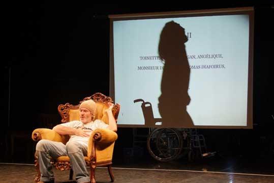 5 au 16 mai 2009, le Malade imaginaire, de Molière, Théâtre Gyptis à Marseille