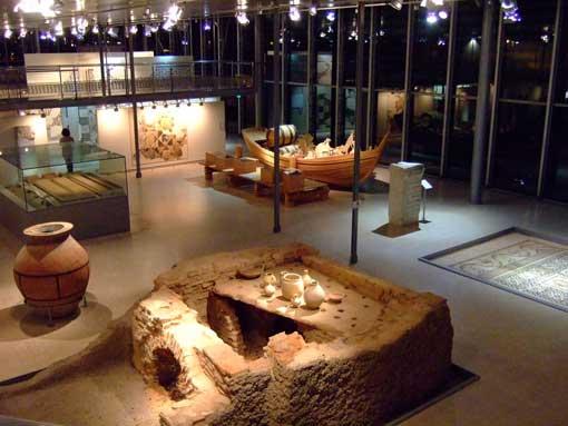 16 mai 09, Nuit des Musées gallo-romains de Lyon-Fourvière et Saint-Romain-en-Gal