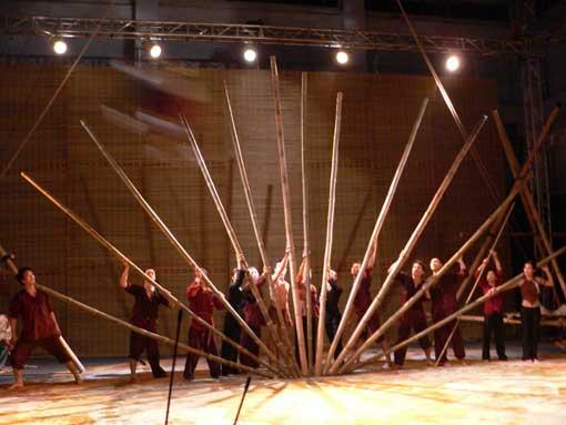 Lang Toi (« Mon Village »), nouveau cirque vietnamien © DR