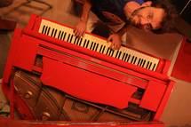 5 mai 09, Thalya m'a dit ...Concert solo piano et accordéon avec Grigoris Belavilas, Le Kibele, Paris